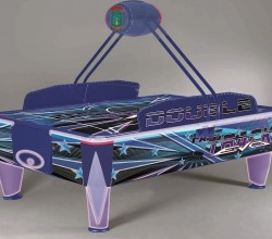 Double Fast Track Air Hockey