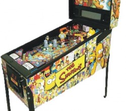 Simpsons Pinball Party (hire)